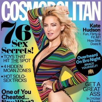 Kate Hudson's Shaved Head Helps Her Beauty Routine