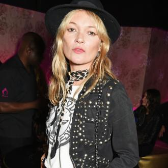Kate Moss parties up a storm