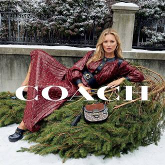 Kate Moss stars in Coach 2019 holiday campaign