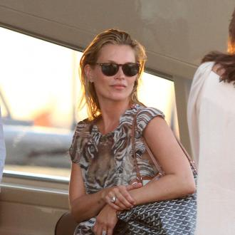 Kate Moss' Quiet Seaside Break