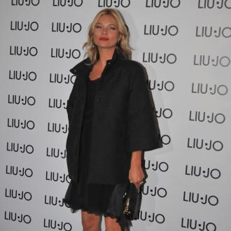 Kate Moss Likes To Cut Up Her Clothes