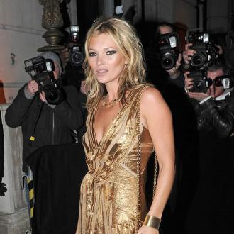 Kate Moss enjoyed Stuart Weitzman ads