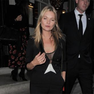 Kate Moss Parties In Style