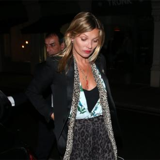 Kate Moss Was Quiet On Flight