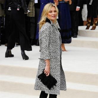 Kate Moss Leads Fashionable Burberry Front Row