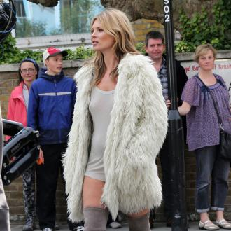 Kate Moss Gets Body Double For Shoot