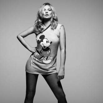 Kate Moss Celebrates 90 Years Of Mickey Mouse