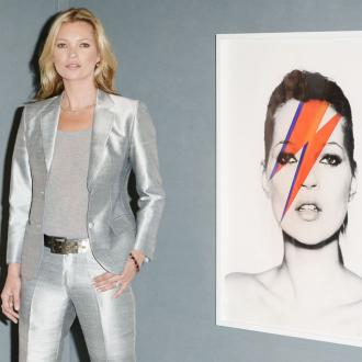 Kate Moss Unveils Christie's Exhibition
