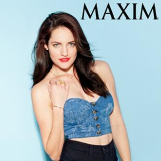 Breaking Amish's Kate Stoltzfus In Maxim Magazine