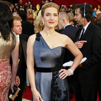 """Kate Winslet likes """"clean and simple"""" red carpet dresses"""