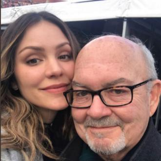 Katharine McPhee's dad has died