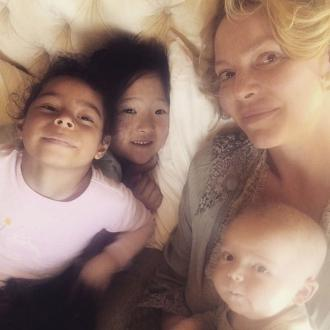 Katherine Heigl's ideal morning is cuddling her kids