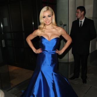 Katherine Jenkins doesn't speak between her performances