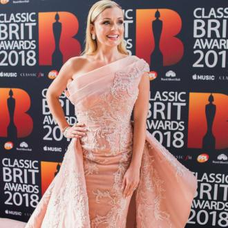 Katherine Jenkins speaks to late father before she performs