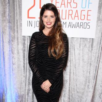 Katherine Schwarzenegger is super happy