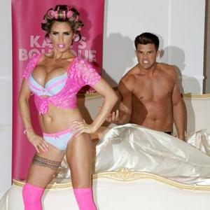 Katie Price Doesn't Care If People Buy Lingerie Line