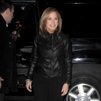 Katie Couric loves married life