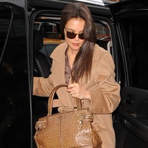 Katie Holmes Creates Luxury Bag