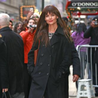 Katie Holmes loves the New York Subway