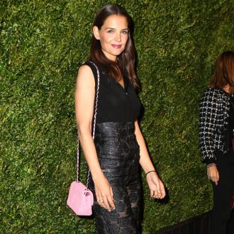 Katie Holmes took daughter to work