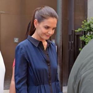 Katie Holmes Takes Guidance From Jeanne Yang