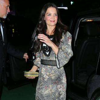 Katie Holmes Admires Kate Moss
