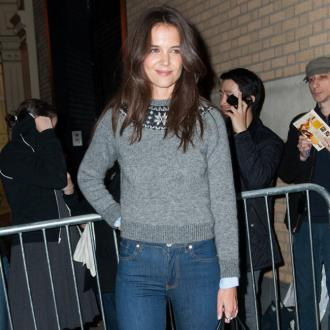 Katie Holmes and Tom Cruise for family Christmas
