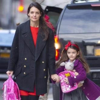 Suri Cruise Celebrates With School Friends