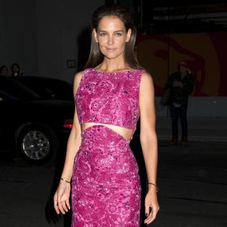 Katie Holmes Is 'Such A Fan' Of Angelina Jolie