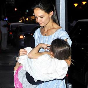 Katie Holmes Fears Being Cut Out Of Suri's Life