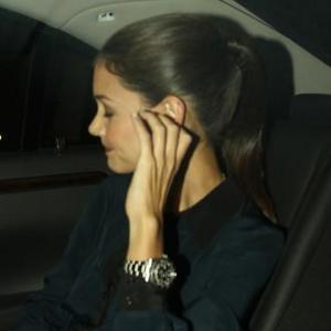Katie Holmes Appears Without Wedding Ring