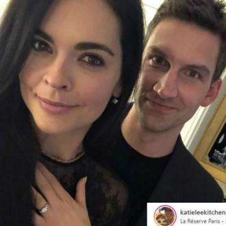 Katie Lee engaged