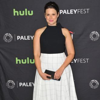 Katie Lowes is expecting a boy