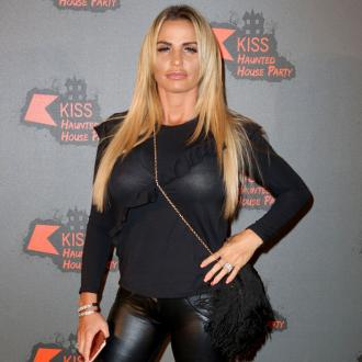 Katie Price strips off in toilets at Christmas party