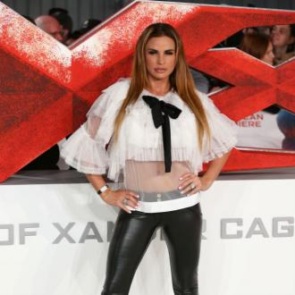 Katie Price auctions off stained dress on eBay
