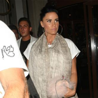 Katie Price Back In UK With Baby