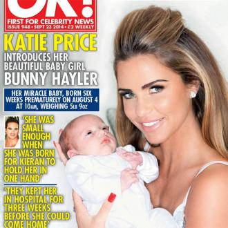 Katie Price's Baby Had Three-week Hospital Stay