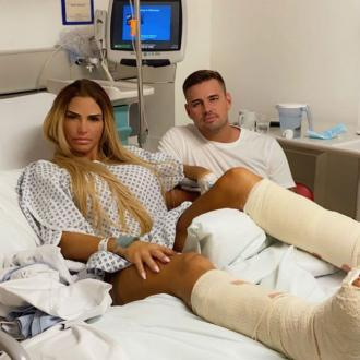 Katie Price returns to The Priory after horror fall