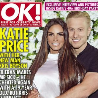 Katie Price claims Kieran Hayler cheated again