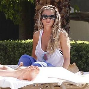 Katie Price Joined By Leandro In Vegas