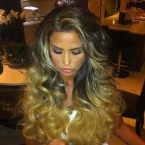 Katie Price Has New Hair Extensions