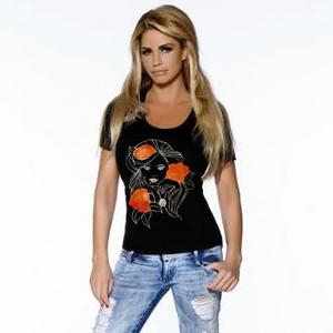 Katie Price Backs Jeans For Genes Campaign