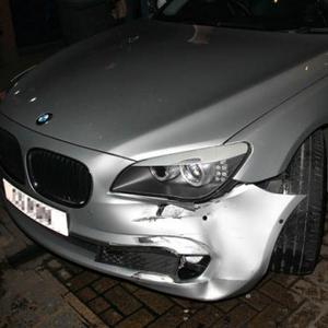 Katie Price In Car Accident