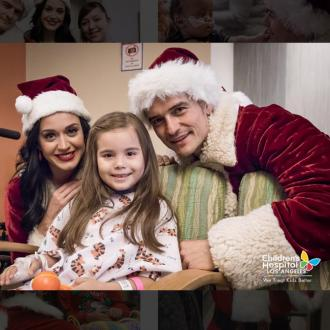 Katy Perry And Orlando Bloom Visit Children's Hospital Los Angeles