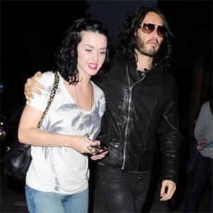 Katy Perry And Russell Brand Spend Christmas Apart