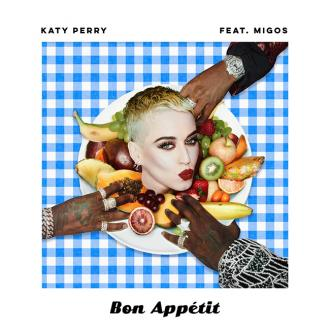 Katy Perry announces Bon Appétit release date