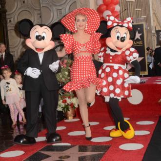 Katy Perry Presents Minnie Mouse With Hollywood Walk Of Fame Star
