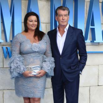 Pierce Brosnan thanks wife for love