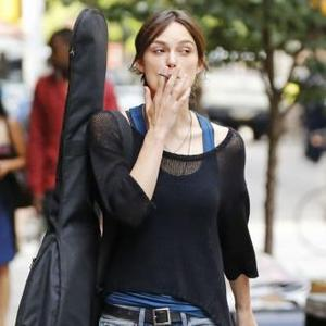 Keira Knightley's Jeans And T-shirt Wedding?
