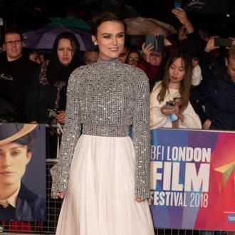 Keira Knightley is exhausted